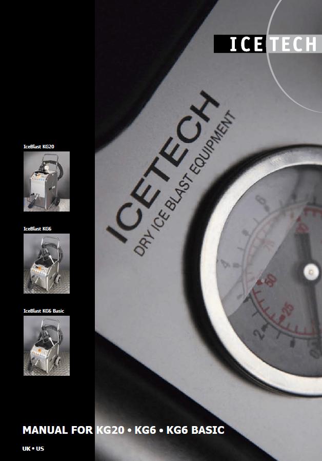 IceTech Dry Ice Blast Equipment